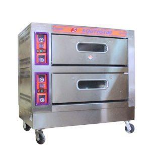 Lò nướng bánh 2 tầng 4 khay điện