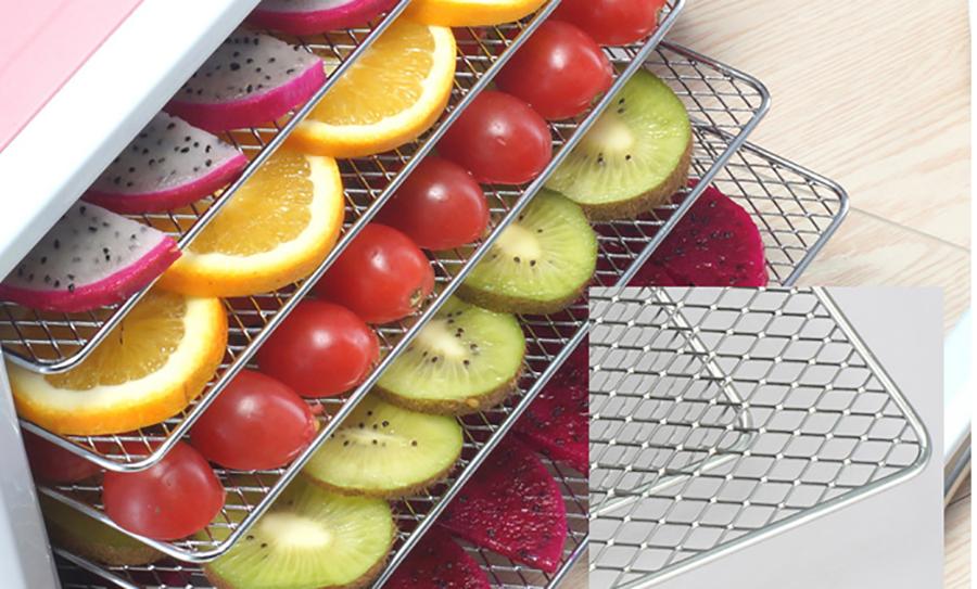 lợi ích của hoa quả sấy khô