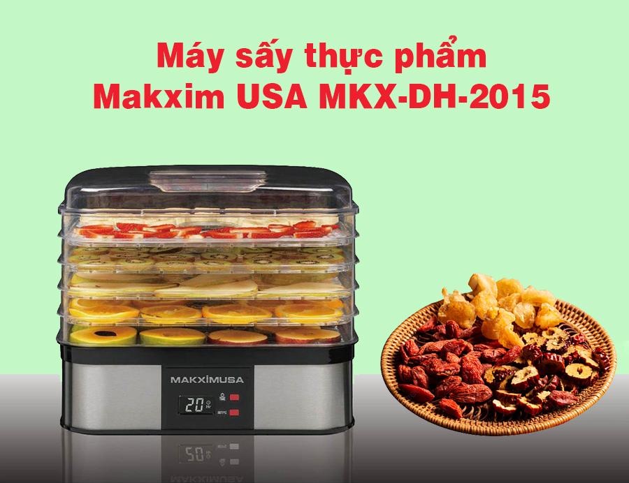 Máy sấy thực phẩm Makxim USA MKX-DH-2015