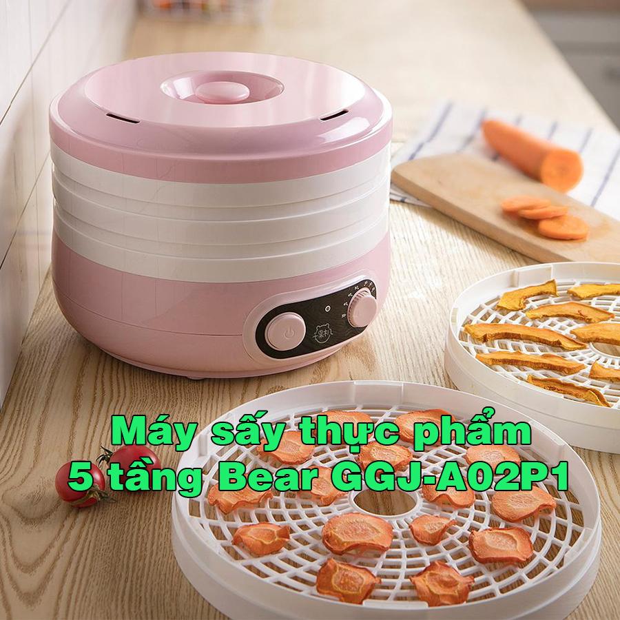 Máy sấy thực phẩm 5 tầng Bear GGJ-A02P1